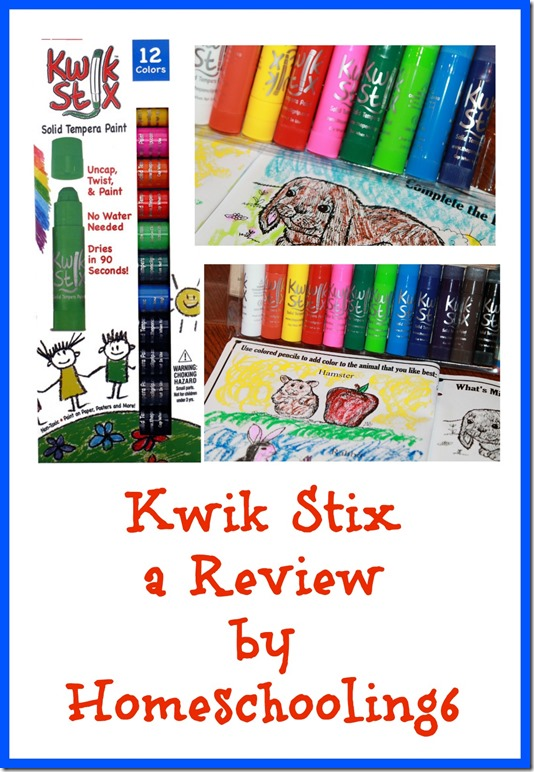 Kwik Stix Review