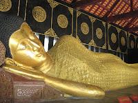 Reclining Buddha - Wat Chedi Luang - Chiang Mai