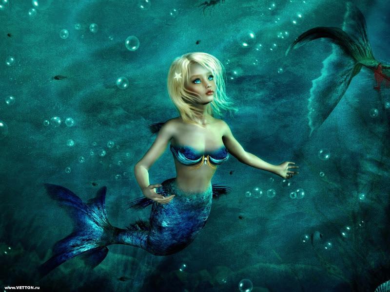 Cute Creature, Mermaids
