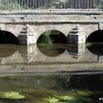 Château de Méréville : fabrique du parc, pont de la chaussée