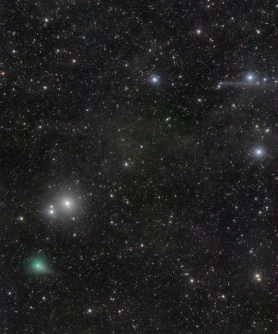 cometas ASASSN e PanSTARRS
