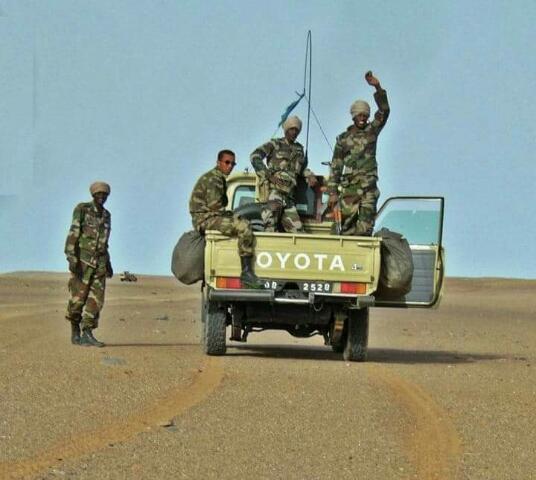 اشتباكات بين الجيش الموريتاني ومسلحين على الحدود الشمالية مع مالي تسفر عن سقوط ضحايا