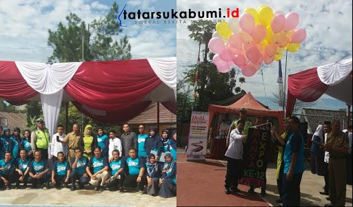 Pameran Kreatifitas Mansa Potensial Expo ke- XII bersama Polres Sukabumi Kampanyekan MRSF to Zero Accident
