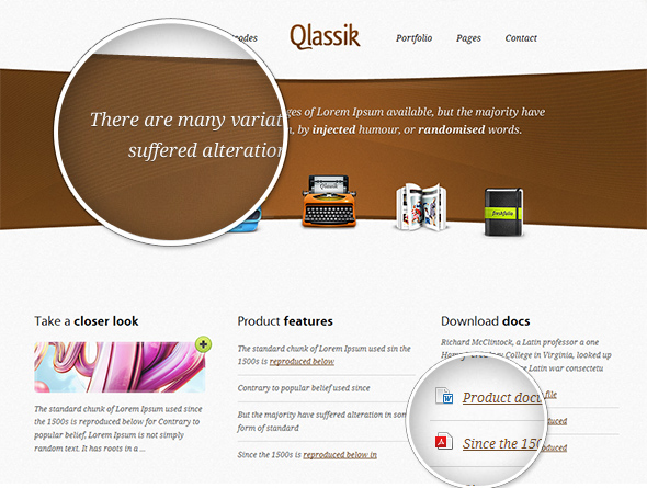 Qlassic Sleek WordPress Theme