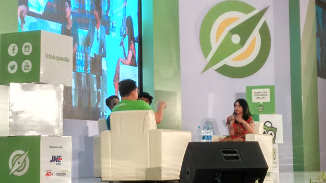 roadshow tokopedia. talkshow tokopedia