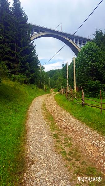 viaduct caracau harghita