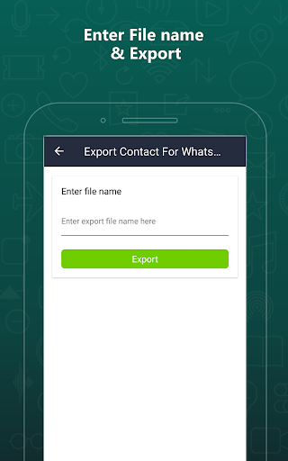 Export Contacts For WhatsApp 2.9 screenshots 16