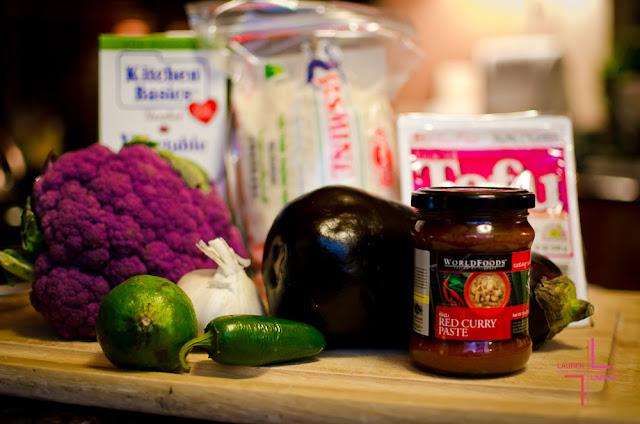World Foods, Fusion Taste Team, Stir Fry, Curry, Cauliflower