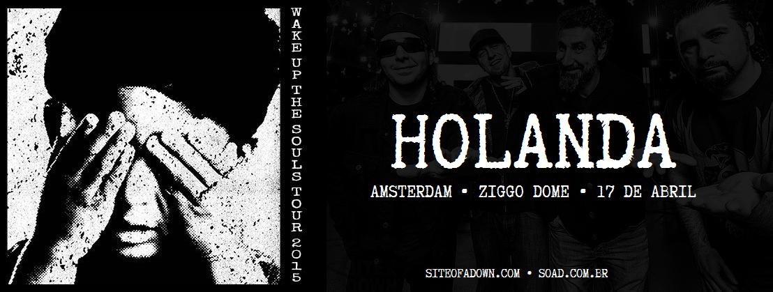 Show em Amsterdam, Holanda