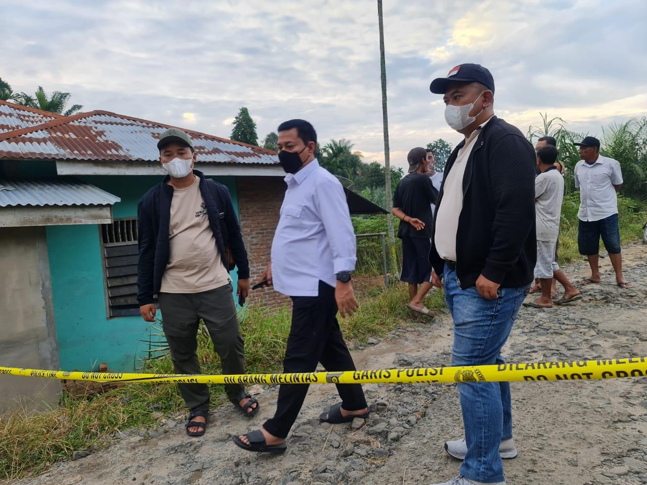 Kasus Penembakan Wartawan, Kapolres Simalungun Turun Langsung ke TKP