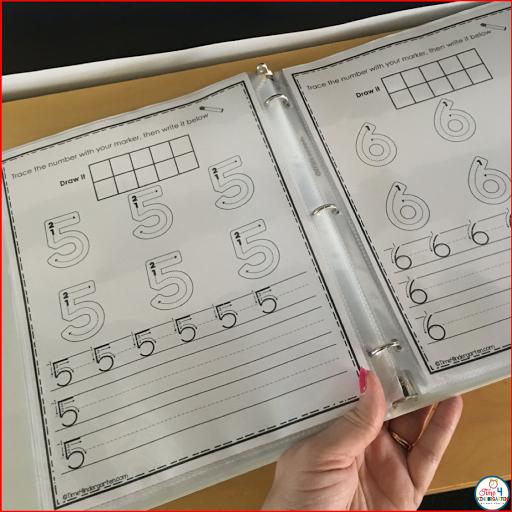 learning binder for kindergarten