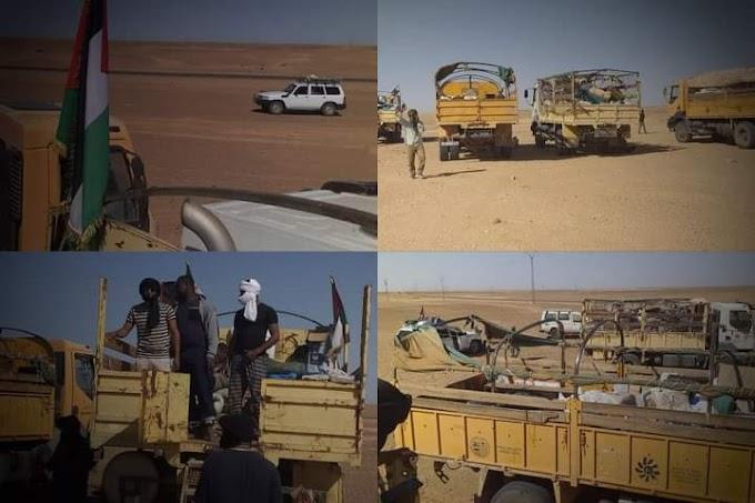 Los saharauis lanzan un ultimátum a Marruecos y a la ONU desde El Guerguerat.