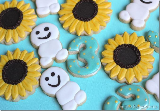 Frozen Fever Sugar Cookies