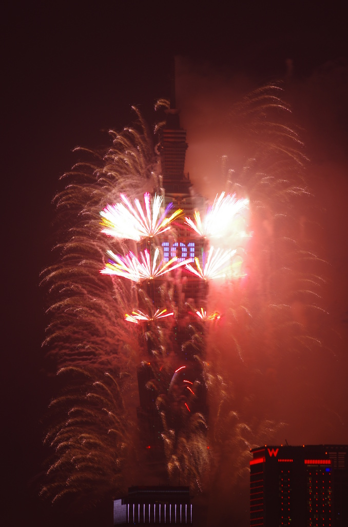 2012 101煙火 恭祝大家新年快樂 賺大錢