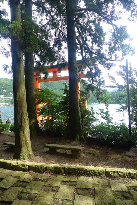 sanctuaire hakone japon