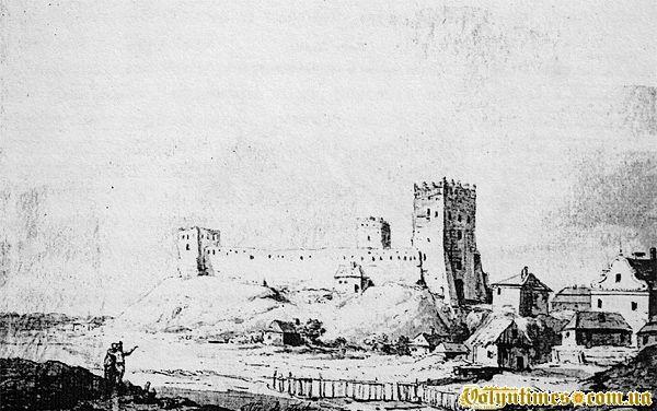 Акварель Казимира Войняковського 1797 року.