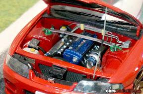 1:24 Nissan Skyline R33 Engine Bay