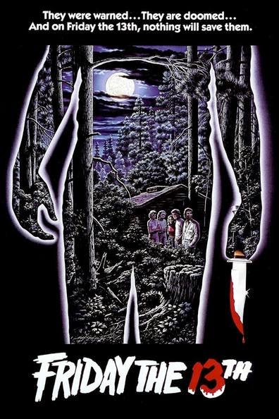 Poster Of Friday the 13th (1980) Full Movie Hindi Dubbed Free Download Watch Online At Alldownloads4u.Com