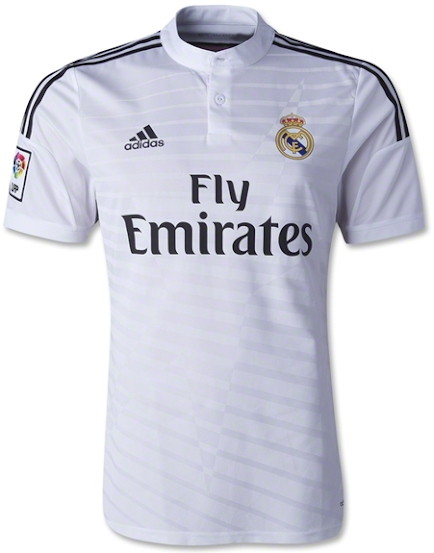 Jual Jersey Real Madrid Home 2014-2015 Official