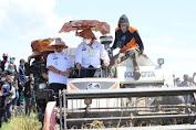 Menteri Pertanian Panen Raya di Jeneponto Disambut Hangat Warga