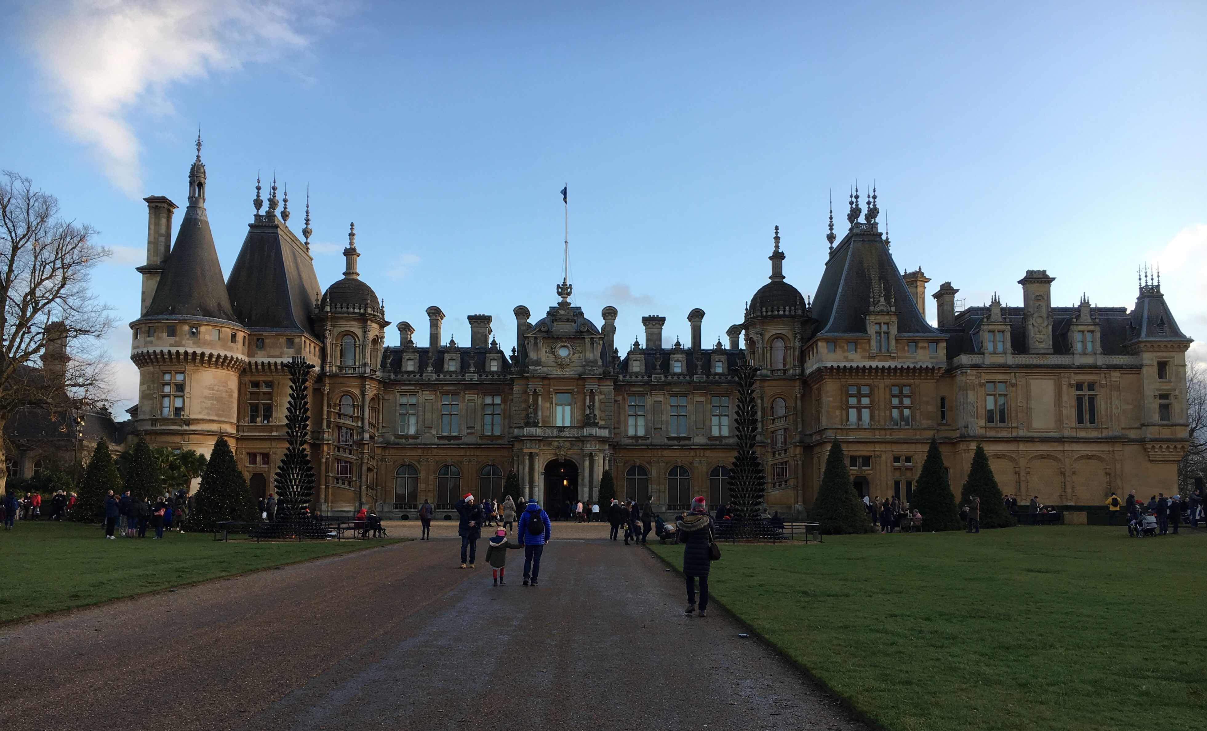 Waddesdon Manor in December