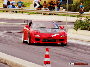 Frank Spiteri in his RX7