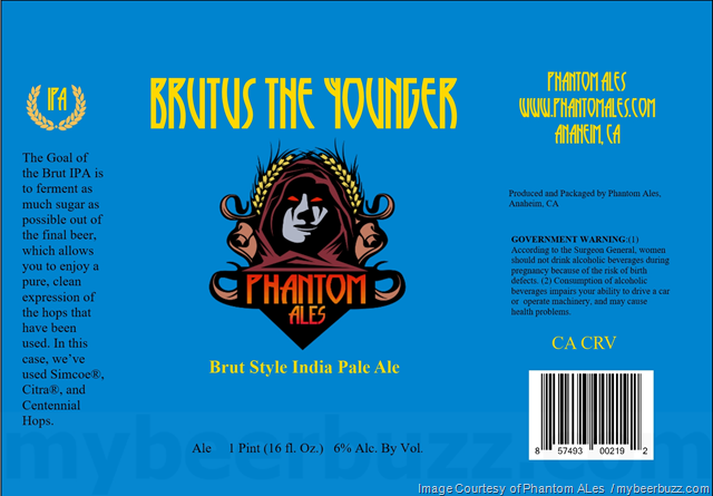 Phantom Ales - Brutus The Younger
