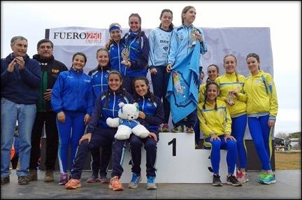 Podium Equipo Juvenil Femenino (Campeonas de Andalucía)-001