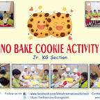 Cooking Experience - No Bake Cookie Activity by Jr. KG Section (2018-19), Witty World, Goregaon East