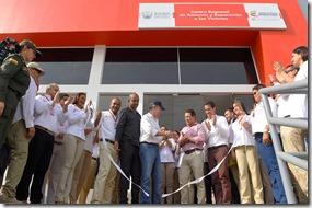 El Presidente Juan Manuel Santos inaugura en Santa Marta el Centro Regional de Atención y Reparación a las Víctimas, que mejorará ostensiblemente la calidad y atención del servicio de las personas impactadas por el conflicto armado.