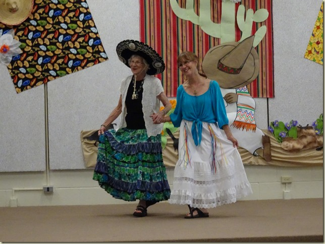 Fashions for Ole Mexico Days