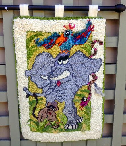 Sandy's Animal Rug