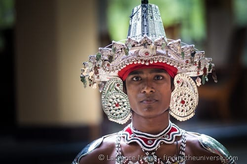 Sri Lankan man traditional head dress