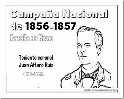 Campaña Nacional de 1856-1857 juan alfaro ruiz