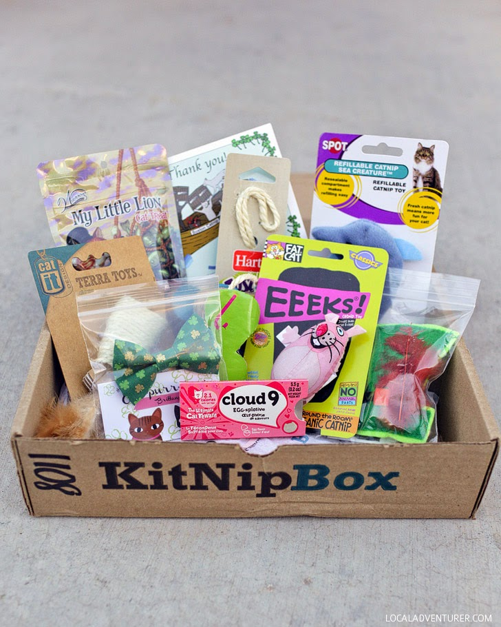 KitNipBox Review - A Cat Subscription Box for Cat Lovers.