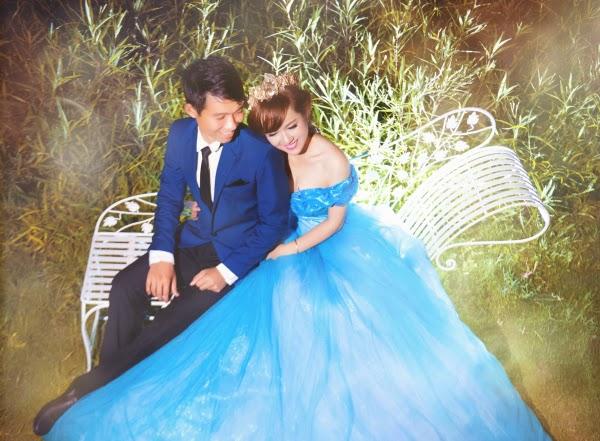 Chiêm ngưỡng bộ ảnh cưới về đêm đẹp lung linh