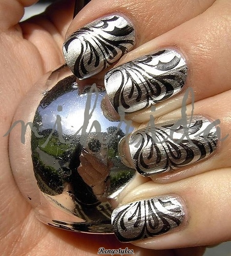 122 Nail Art Designs That You Won T Find On Google Images: Beautiful Water Marble Nail Art Designs