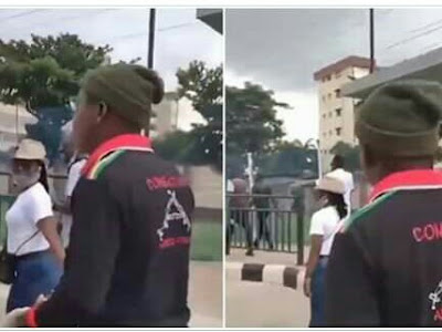 PHOTOS: Confusion As Policemen Joins #End SARS Protest.