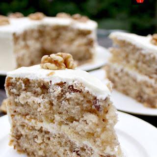 Walnut Cake.