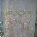Nelson R. Hewgley Husband of Sarah Elizabeth Gleaves Old Dozier Cemetery Cheatham County, Tennessee