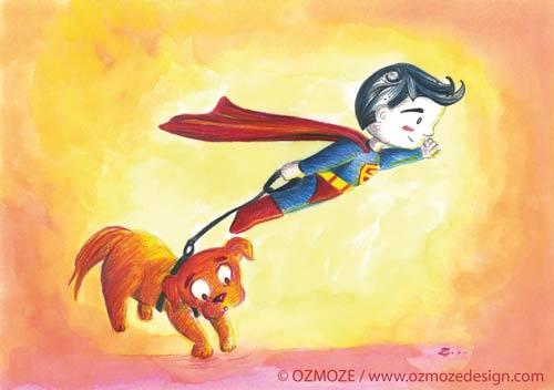 Superman and Dog