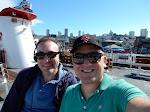 On our Bridge-to-Bridge ship