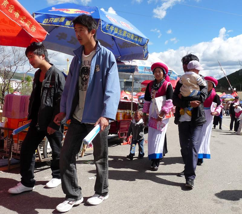 Chine. Yunnan.Shangri la Course hippique annuelle - P1250729.JPG