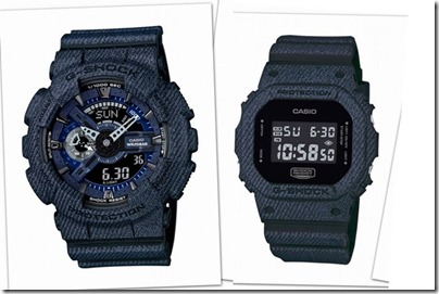 Casio G-SHOCK Denim' D Color Series GA-110 DW-5600
