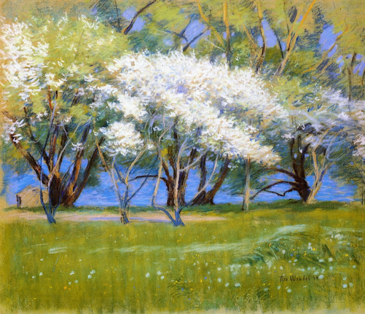Theodore Wendel – Spring Landscape