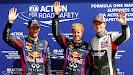 top 3 qualifiers: 1. Vettel 2. Webber 3. Hulkenberg