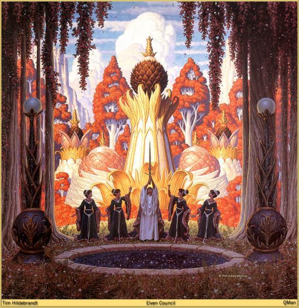 Elven Council, Wizards