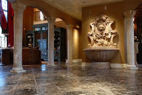 Architecture, Column, Columns, Fountain, Interior