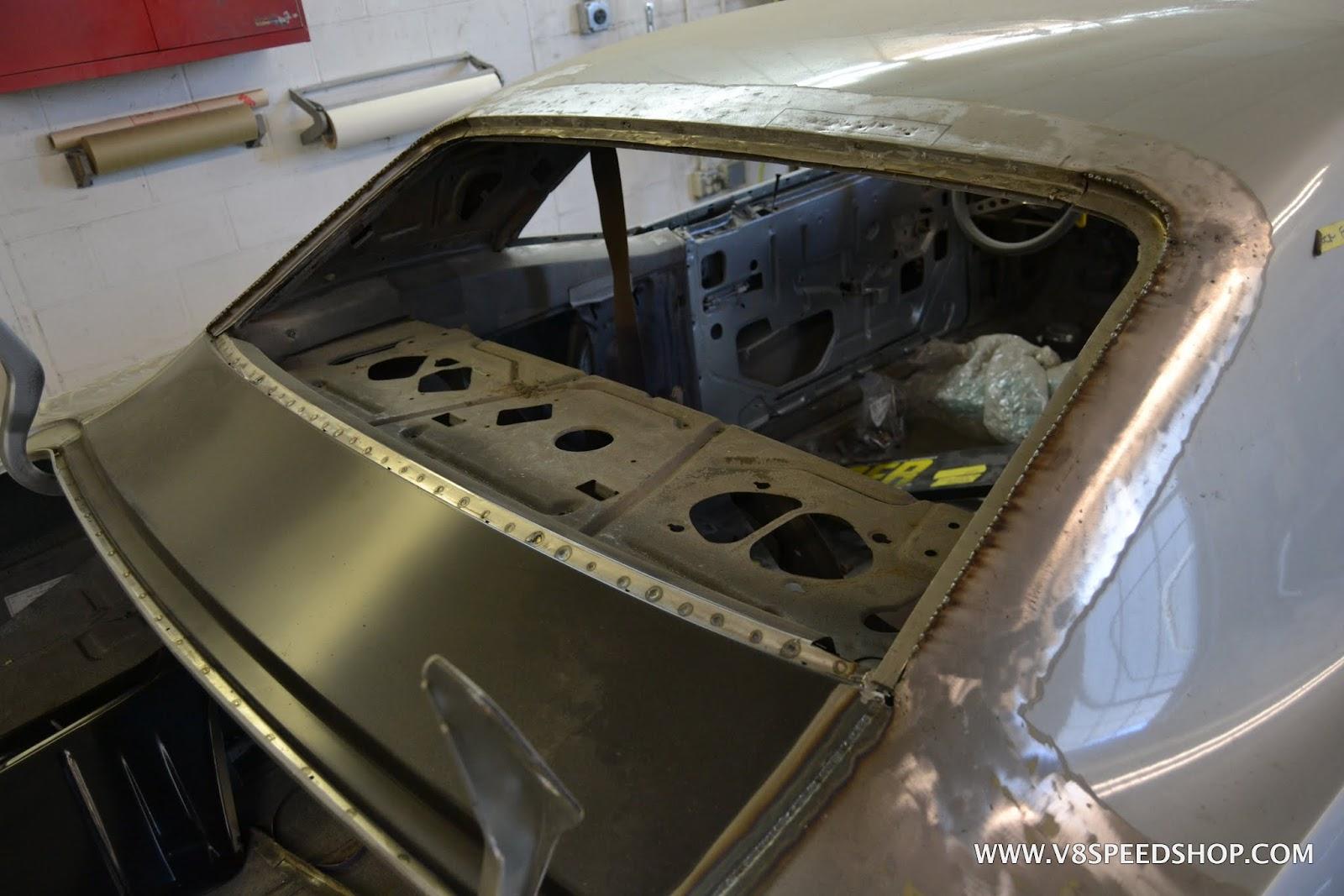 "1969 Camaro ""Carbon Flash"" Restoration in the V8 Speed & Resto Shop"
