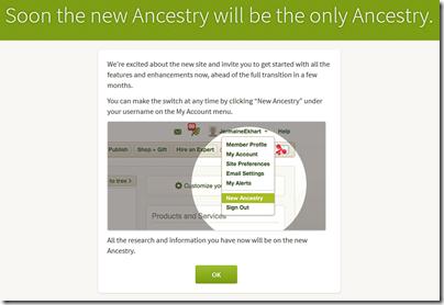 很快,新的祖先将是唯一的祖先。